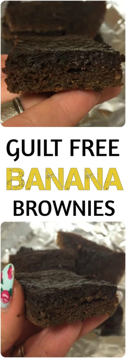 Got Browning Bananas? Use This GUILT FREE Banana Brownie Recipe!