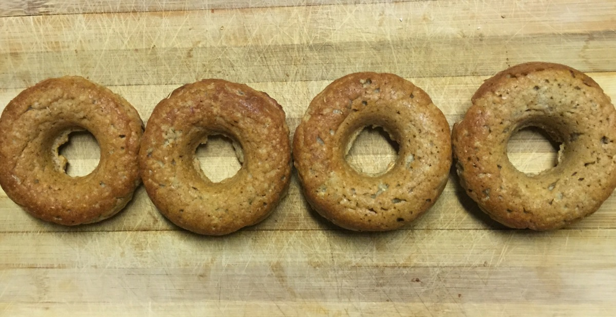 Skinny Vanilla Protein Donuts