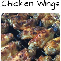 Chipotle Baked Chicken Wings