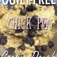 GUILT-FREE Chick Pea Protein Cookie Dough!