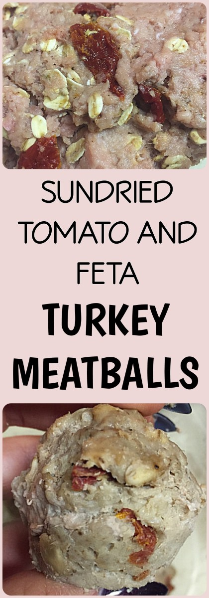 Sundried Tomato And Feta Turkey Meatballs