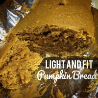 Light And Fit Guilt Free Pumpkin Bread