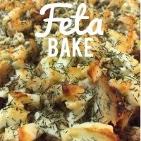 Skinny Girl Chicken Feta Bake