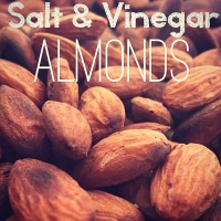 Roasted Salt And Vinegar Almonds