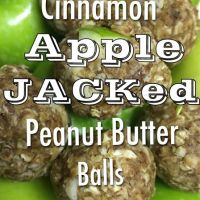 Apple JACKed Peanut Butter Balls!
