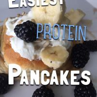 How To Make The Easiest Protein Pancakes!