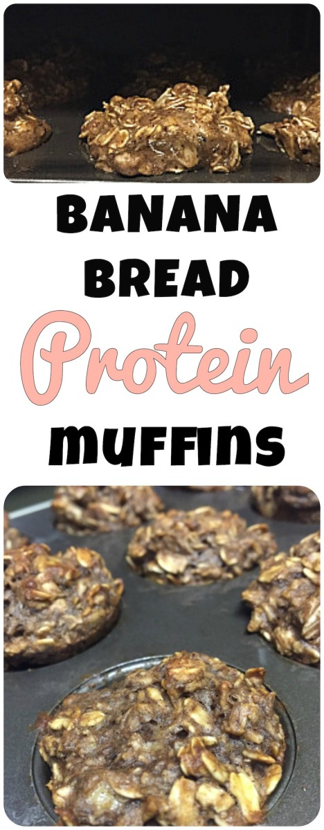 Banana Bread Protein Muffins!