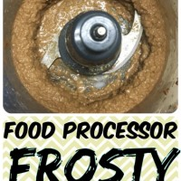 Better Than Wendy's! Low Calorie Food Processor FROSTY!