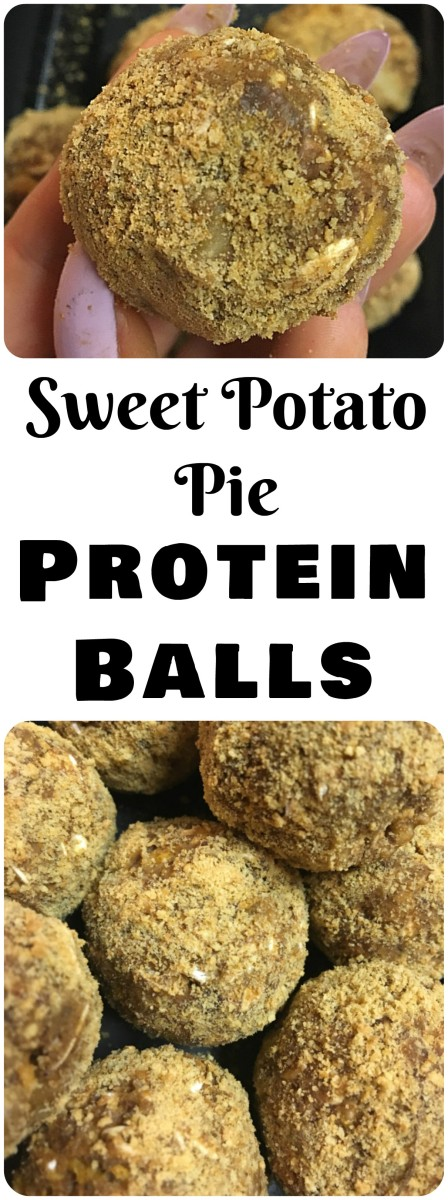 Sweet Potato Pie Protein Balls!