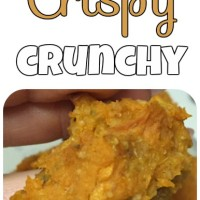 Crispy And Crunchy Sweet Potato Tots!
