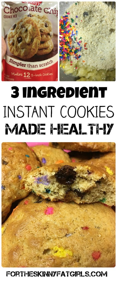 THREE Ingredient Cookie Mix Food Hack!