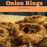 Air Fryer Pork Rind Onion Rings